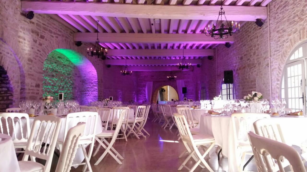 Eclairage de salle Chateau de Santenay